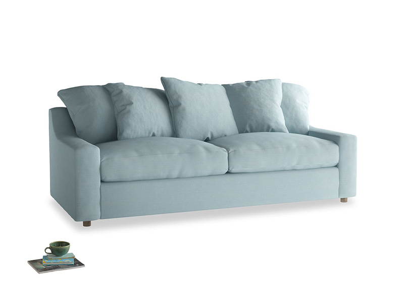 Large Cloud Sofa in Powder Blue Clever Softie