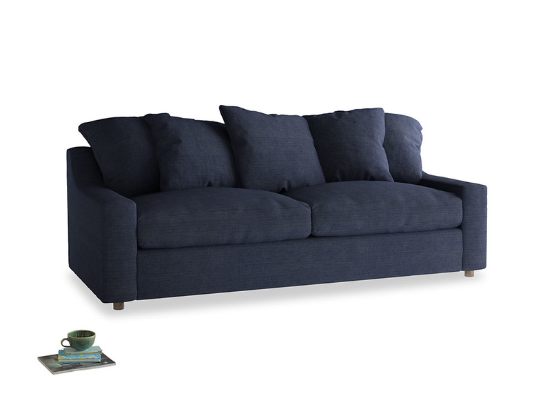 Large Cloud Sofa in Seriously Blue Clever Softie