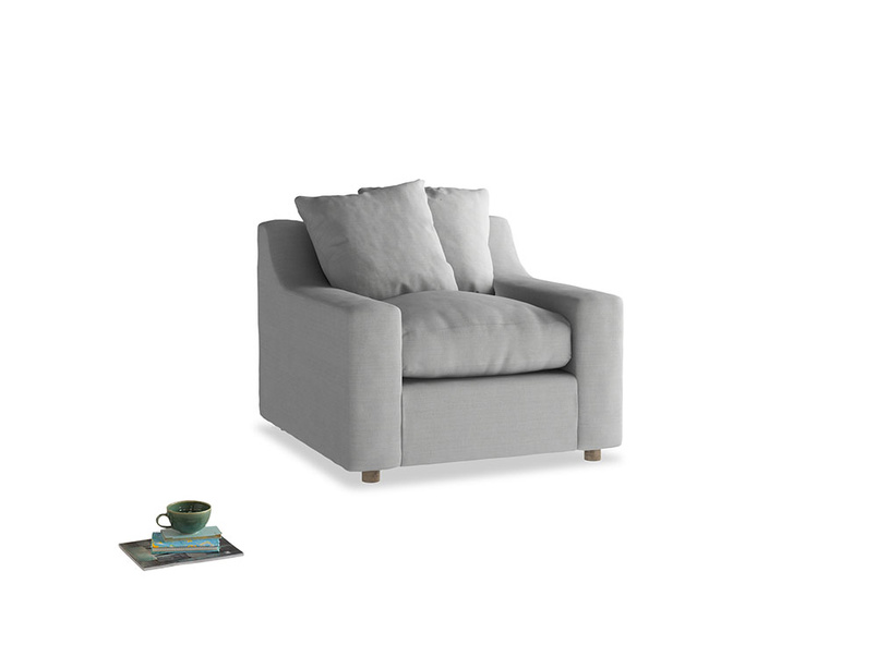 Cloud Armchair in Pewter Clever Softie