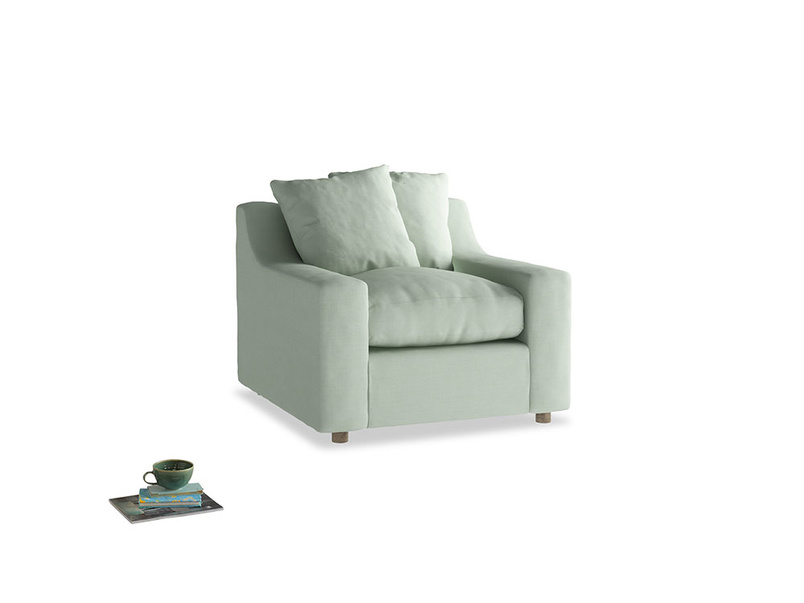 Cloud Armchair in Soft Green Clever Softie
