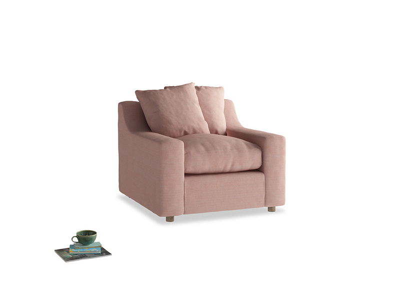 Cloud Armchair in Tuscan Pink Clever Softie