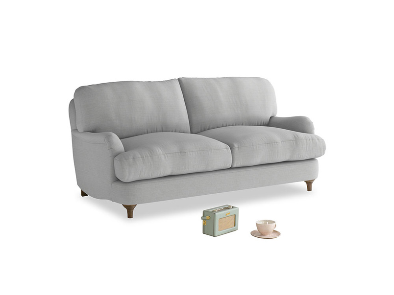 Small Jonesy Sofa in Pewter Clever Softie