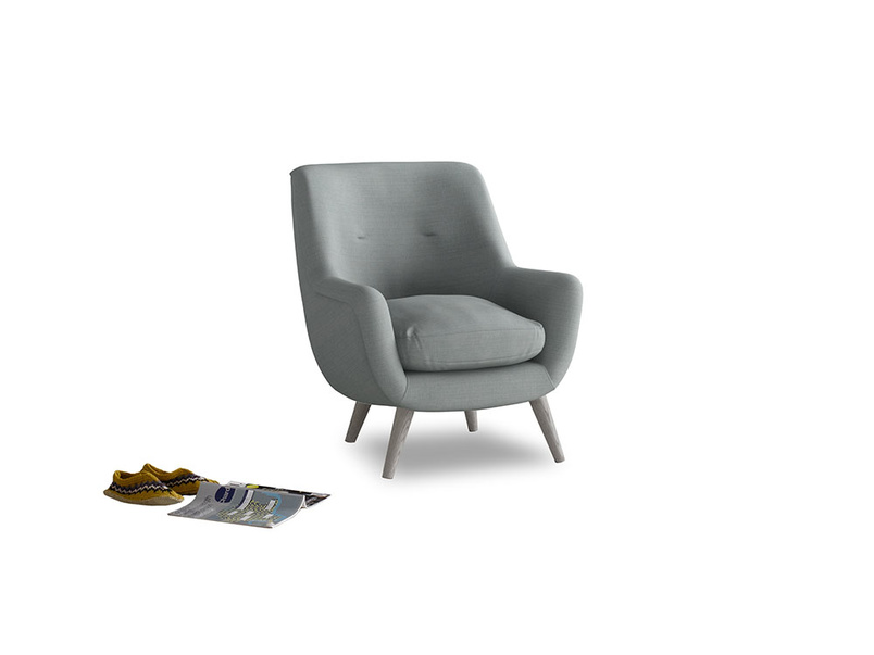 Berlin Armchair in Armadillo Clever Softie