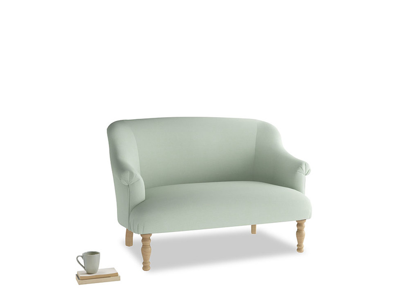 Small Sweetie Sofa in Soft Green Clever Softie
