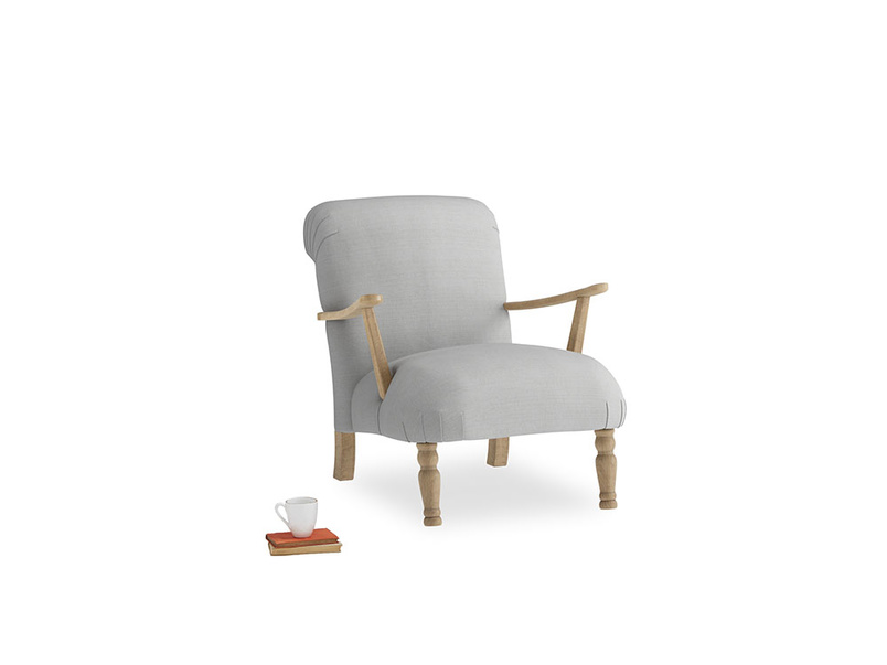 Brew Armchair in Pewter Clever Softie