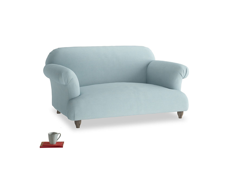 Small Soufflé Sofa in Powder Blue Clever Softie