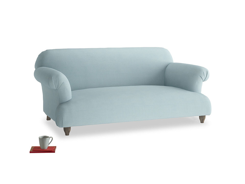 Medium Soufflé Sofa in Powder Blue Clever Softie