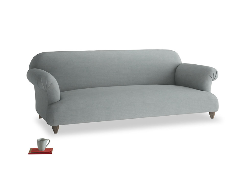 Large Soufflé Sofa in Armadillo Clever Softie