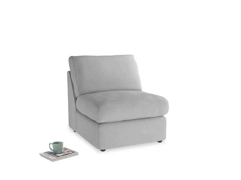 Chatnap Storage Single Seat in Pewter Clever Softie