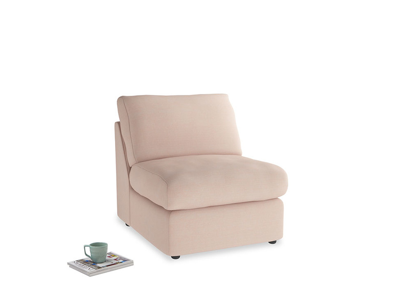 Chatnap Storage Single Seat in Pink clay Clever Softie