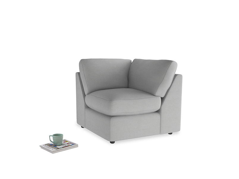 Chatnap Corner Unit in Pewter Clever Softie