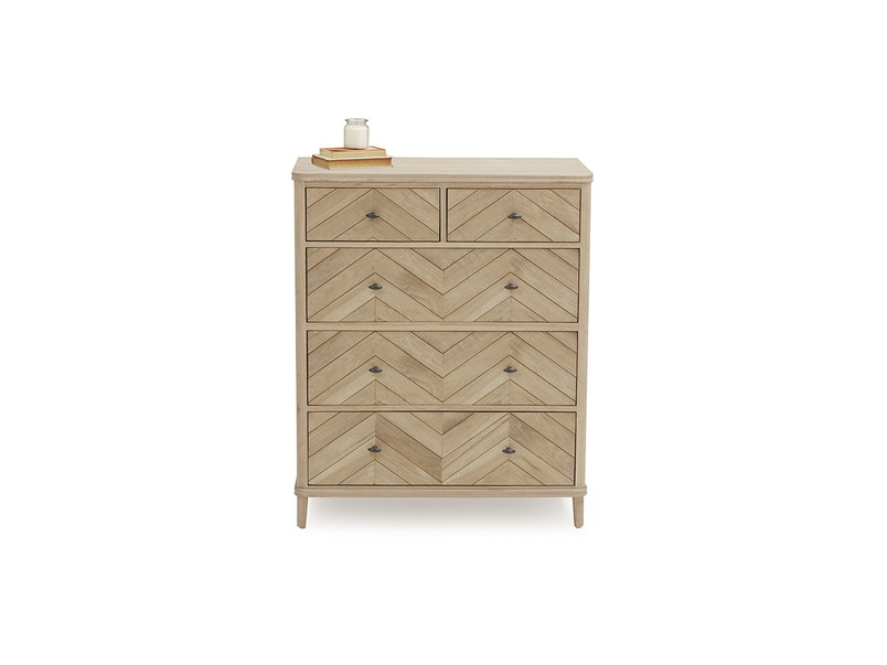 Large Young Flapper chest of drawers