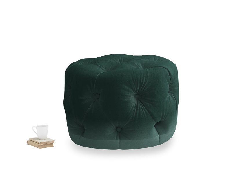 Gumdrop in Dark green Clever Velvet
