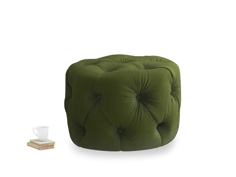 Gumdrop in Good green Clever Deep Velvet
