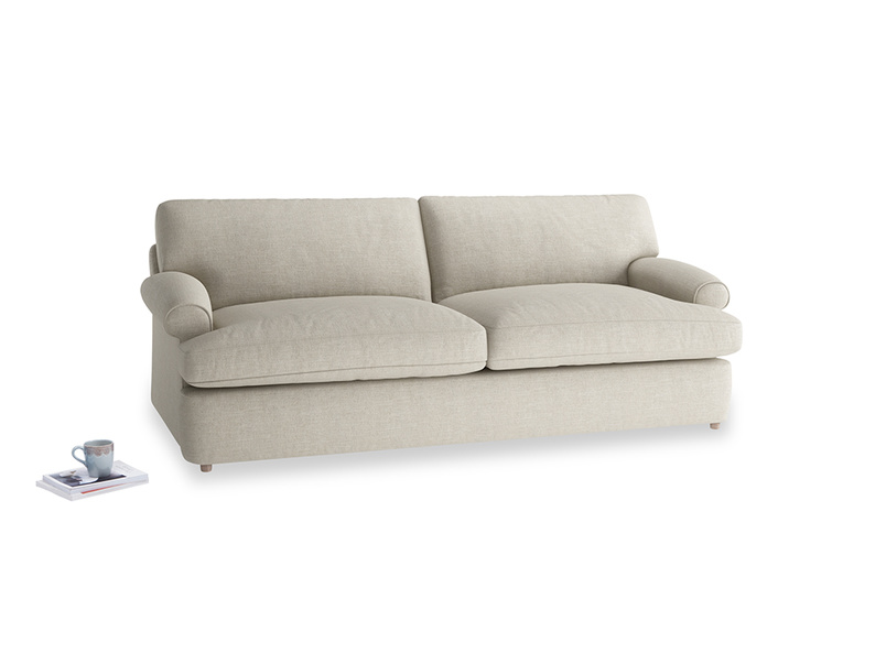 Large Slowcoach Sofa Bed in Thatch house fabric