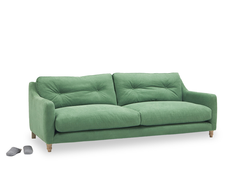 Slim Jim high arm sofa