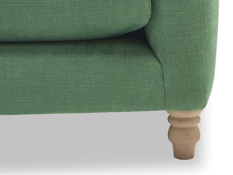 Slim Jim button back sofa