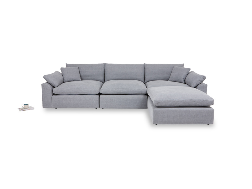 Cuddlemuffin comfy modular chaise sofa
