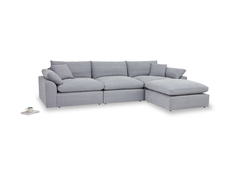 Cuddle Muffin sectional chaise sofa