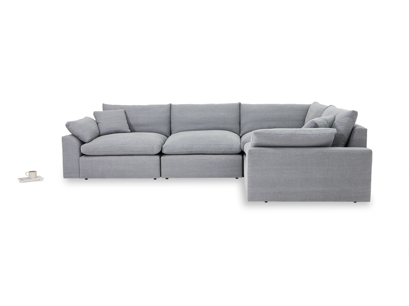 Cuddle Muffin large seater corner sofa