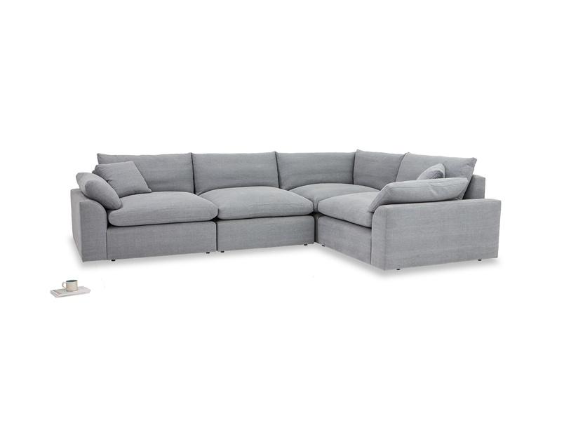Cuddle Muffin sectional large corner sofa