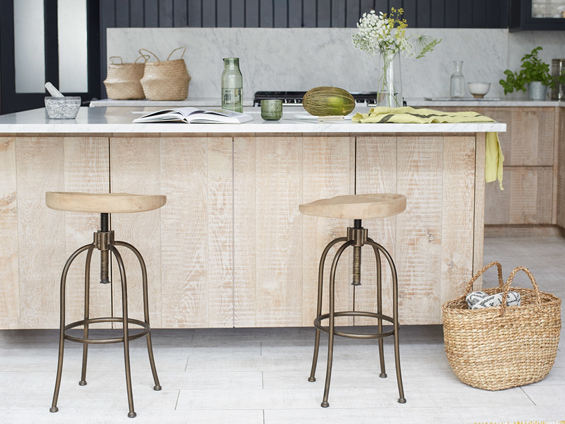 Tractor kitchen bar stools