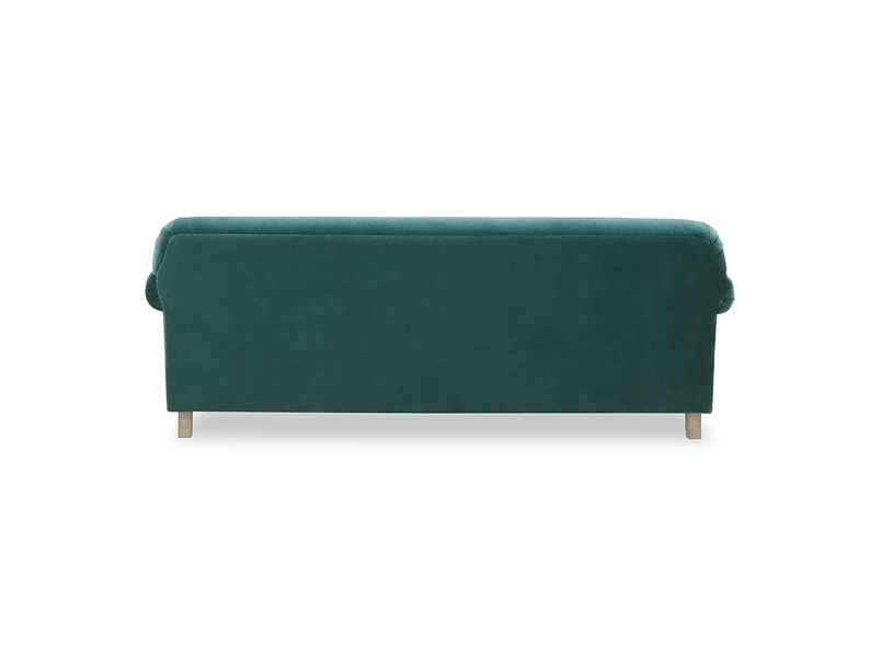 Souffle feather free sofa back detail
