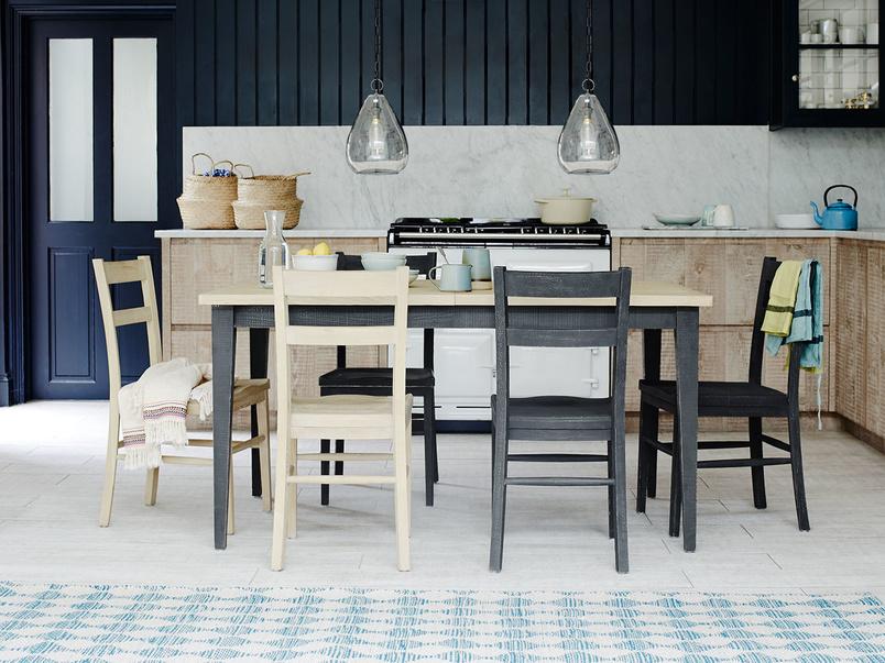 Kernel wooden extending kitchen table