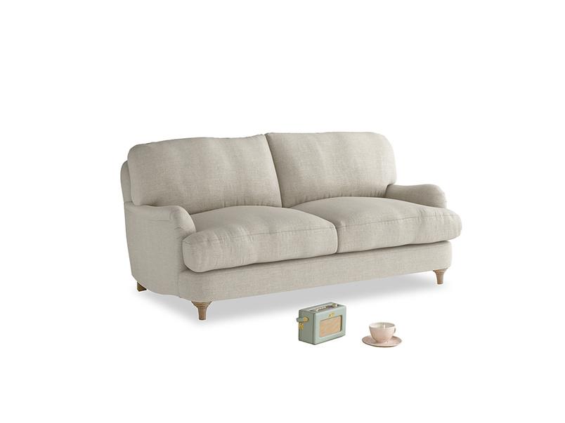 Small Jonesy Sofa in Thatch house fabric