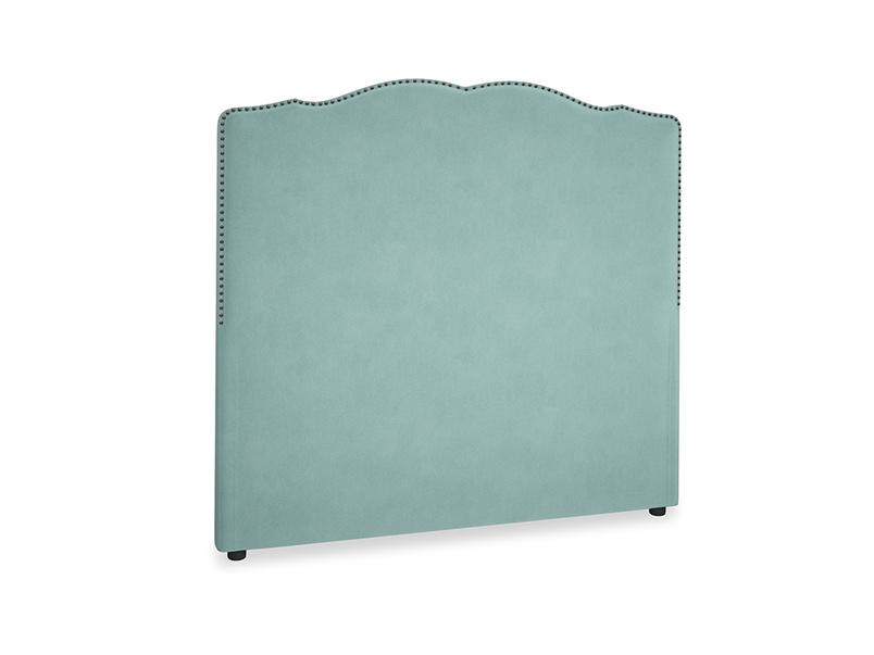 Double Marie Headboard in Greeny Blue Clever Deep Velvet