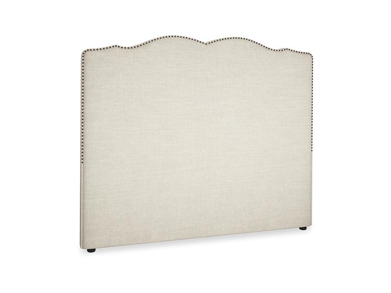 Kingsize Marie Headboard in Shell Clever Laundered Linen