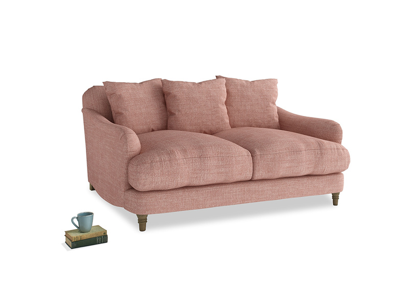 Small Achilles Sofa in Blossom Clever Laundered Linen