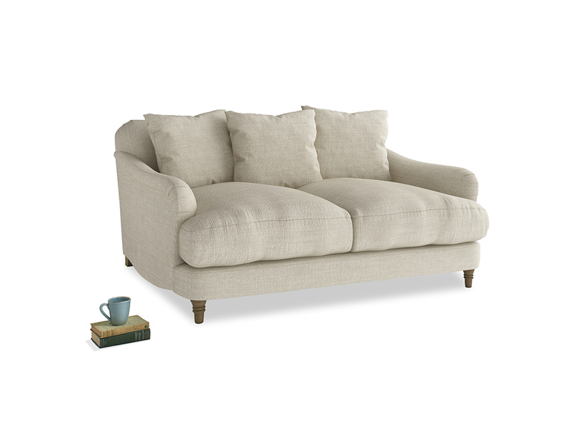 Small Achilles Sofa in Shell Clever Laundered Linen