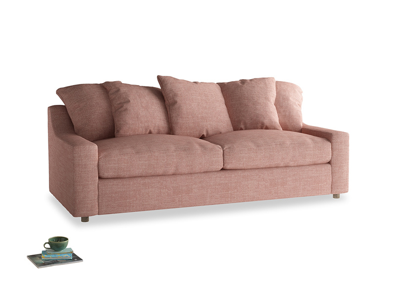 Large Cloud Sofa in Blossom Clever Laundered Linen
