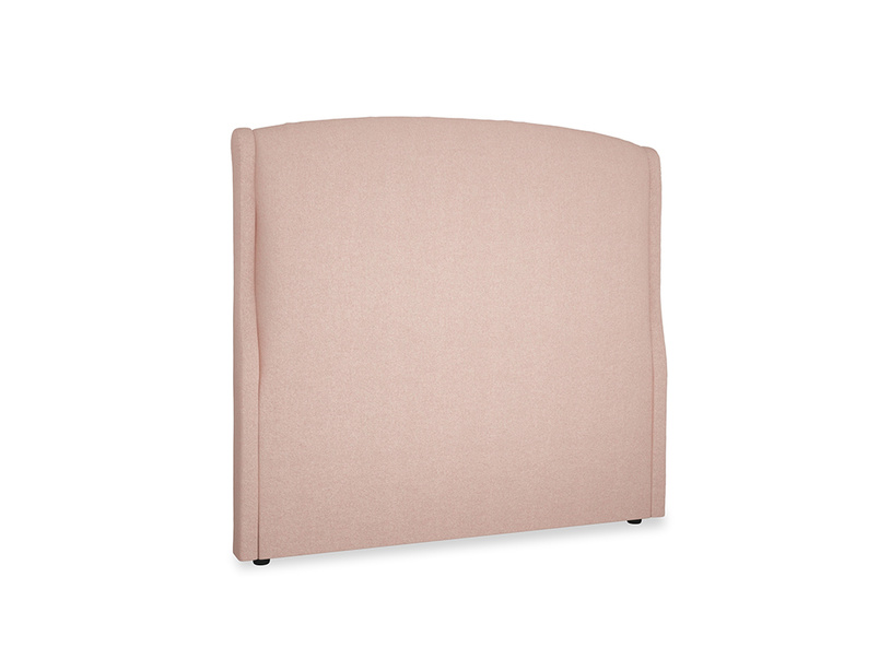 Double Dazzler Headboard in Pale Pink Clever Woolly Fabric