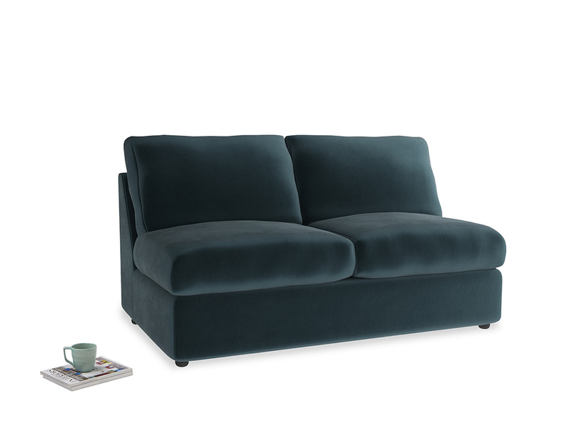 Chatnap Storage Sofa in Bluey Grey Clever Deep Velvet