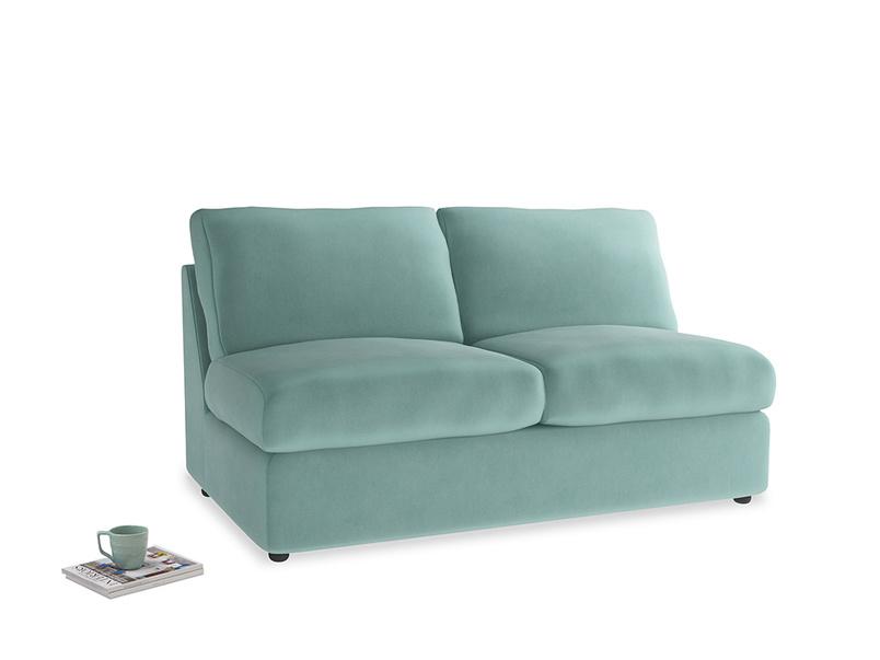 Chatnap Storage Sofa in Greeny Blue Clever Deep Velvet