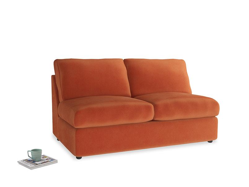 Chatnap Storage Sofa in Old Orange Clever Deep Velvet