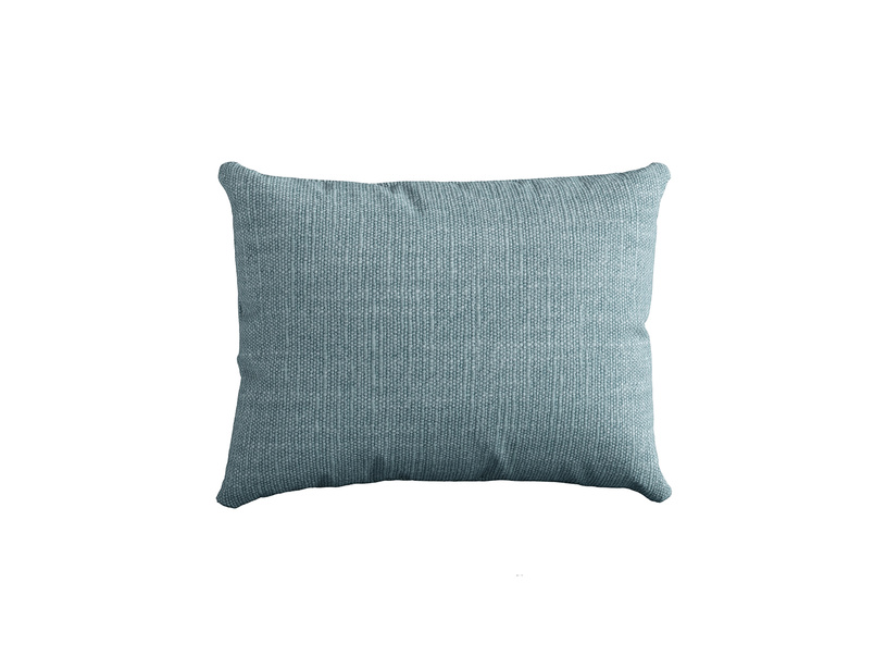 Stretch Scatter in Soft Blue Clever Laundered Linen