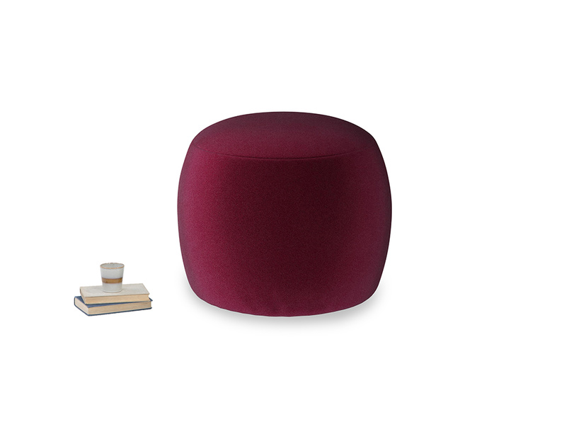 Little Cheese in Merlot Plush Velvet