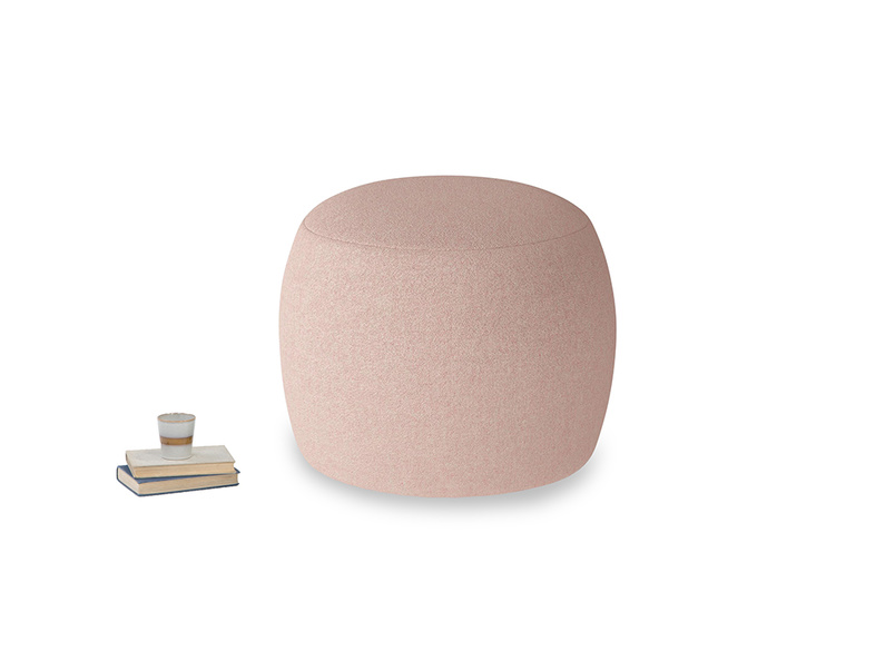 Little Cheese in Pale Pink Clever Woolly Fabric