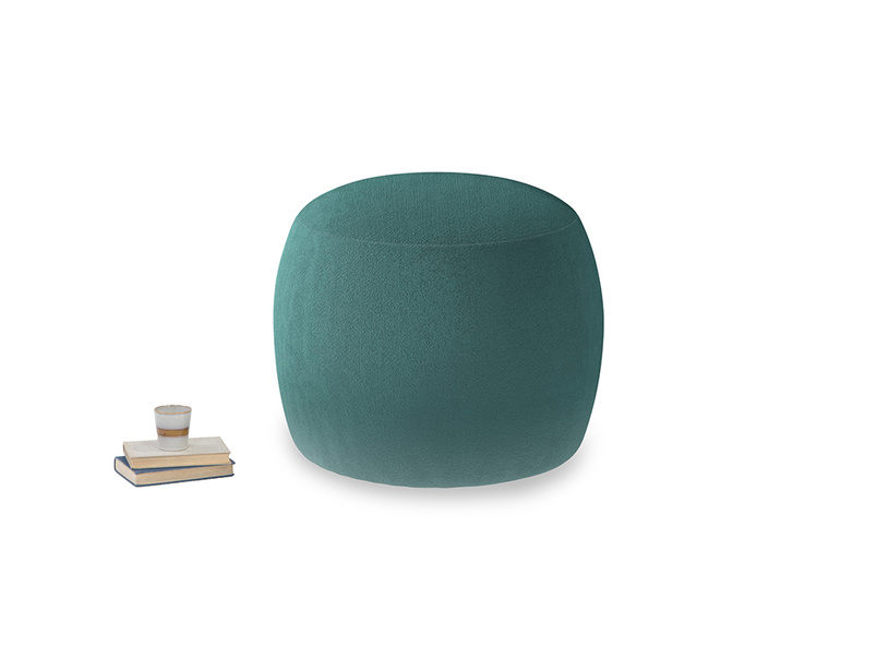 Little Cheese in Real Teal clever velvet