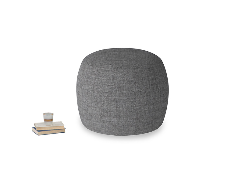 Little Cheese in Strong grey clever woolly fabric