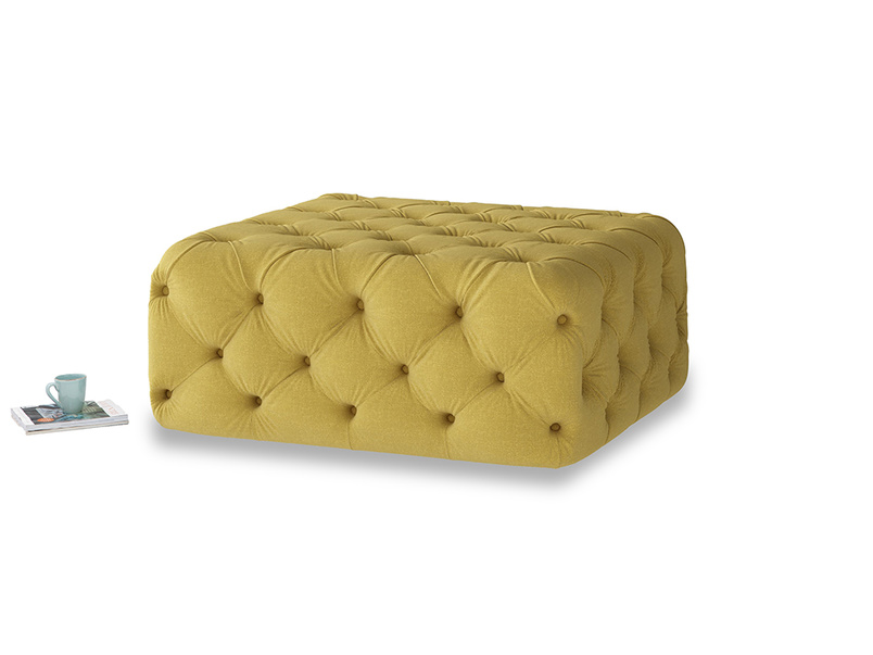 Oops-a-Lazy in Maize yellow Brushed Cotton