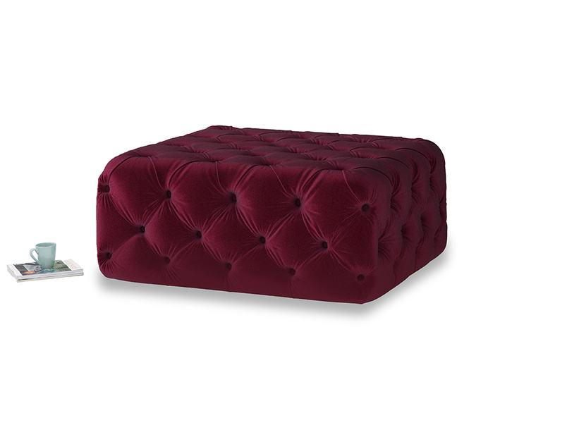 Oops-a-Lazy in Merlot Plush Velvet