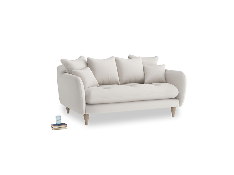 Small Skinny Minny Sofa in Chalk clever cotton