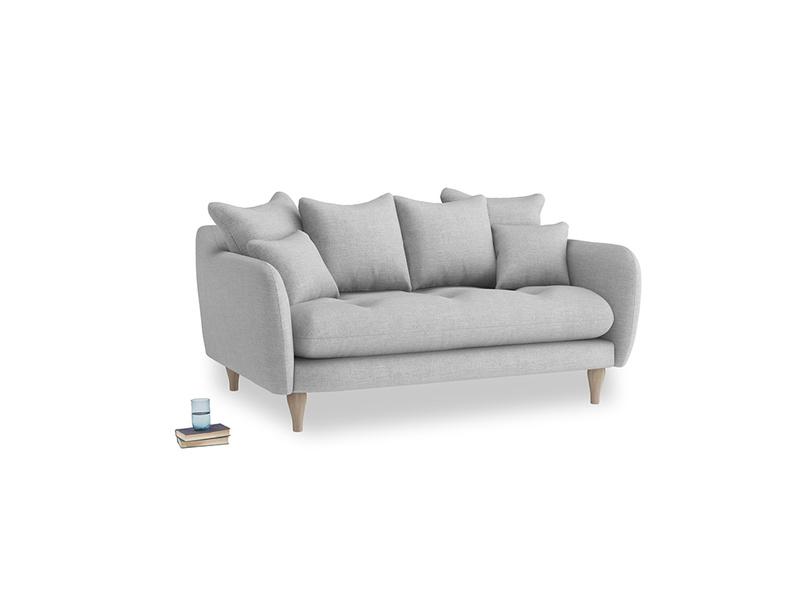 Small Skinny Minny Sofa in Cobble house fabric