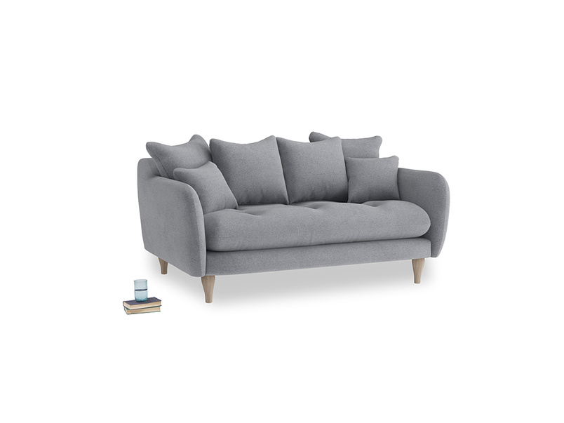Small Skinny Minny Sofa in Dove grey wool