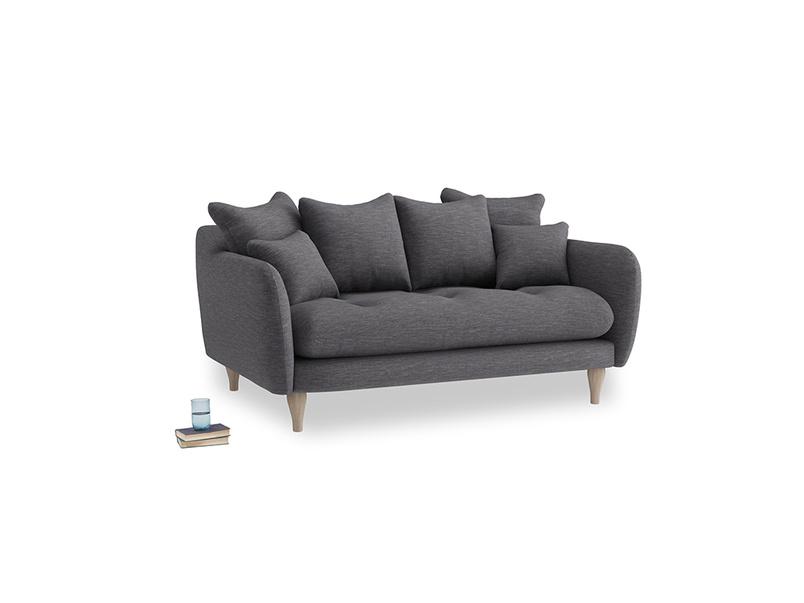Small Skinny Minny Sofa in Lead cotton mix