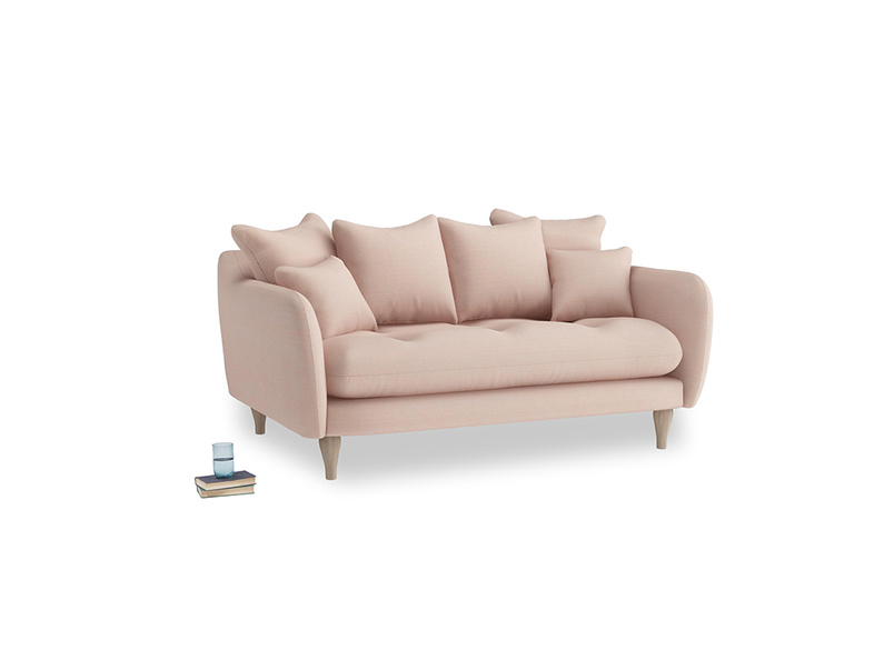 Small Skinny Minny Sofa in Pink clay Clever Softie